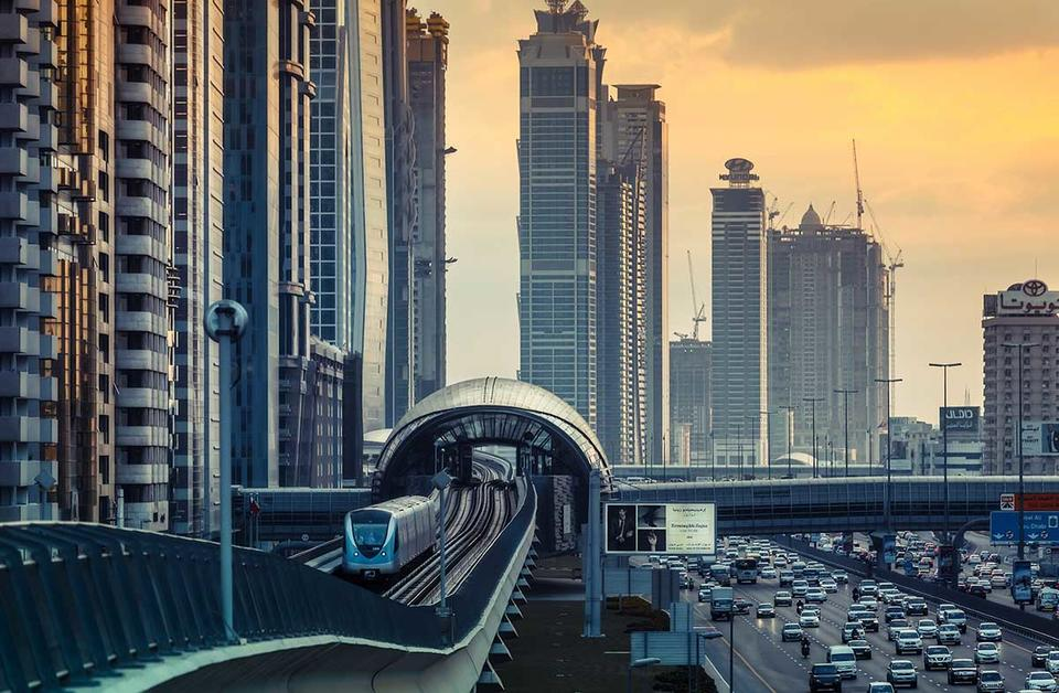 Double-digit drop in Dubai real estate companies.